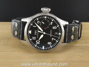 IWC Big Pilot´s Watch Fliegeruhr 7 Days Power Reserve 500401
